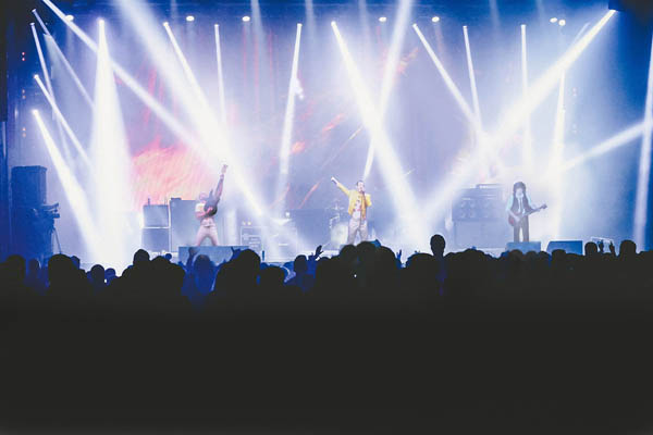 queen tribute band corporate events